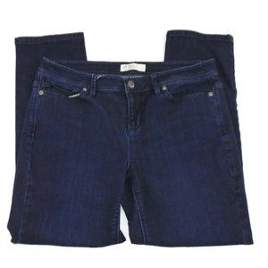 J. Jill Denim Jeans Authentic Fit Slim Leg 10